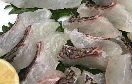 真鯛畜養 1kg当たりの価格です